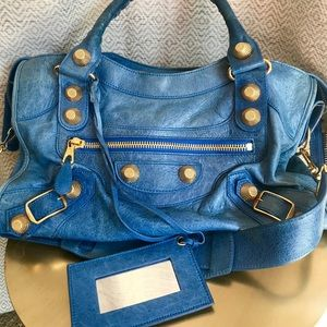 Balenciaga Giant 12 City Electric Blue